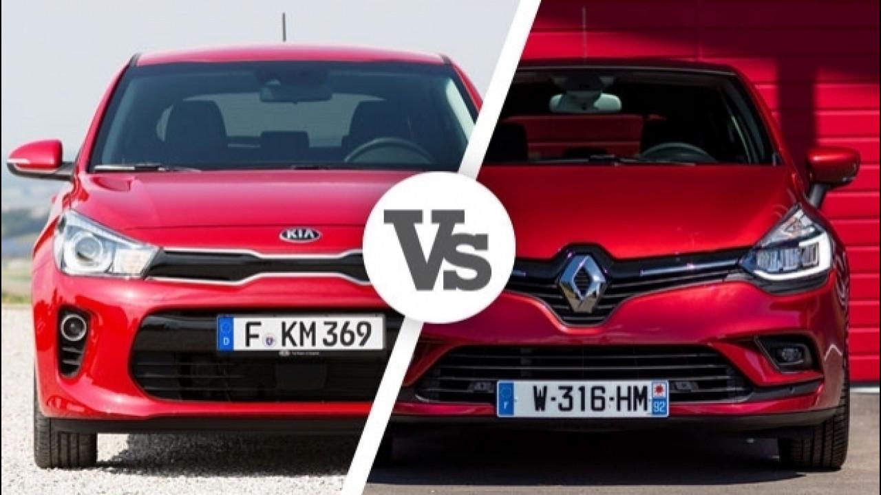 [Copertina] - Kia Rio VS Renault Clio, primo confronto
