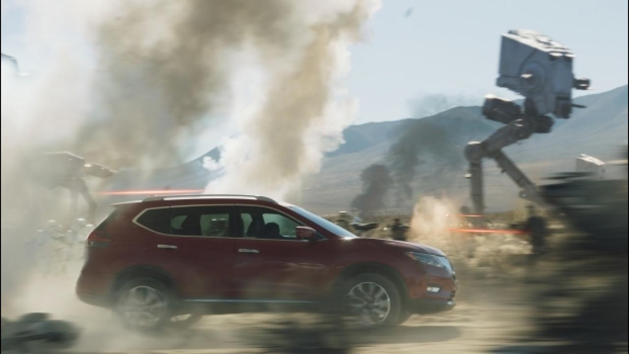 [Copertina] - Nissan, la X-Trail partecipa alle Guerre Stellari [VIDEO]