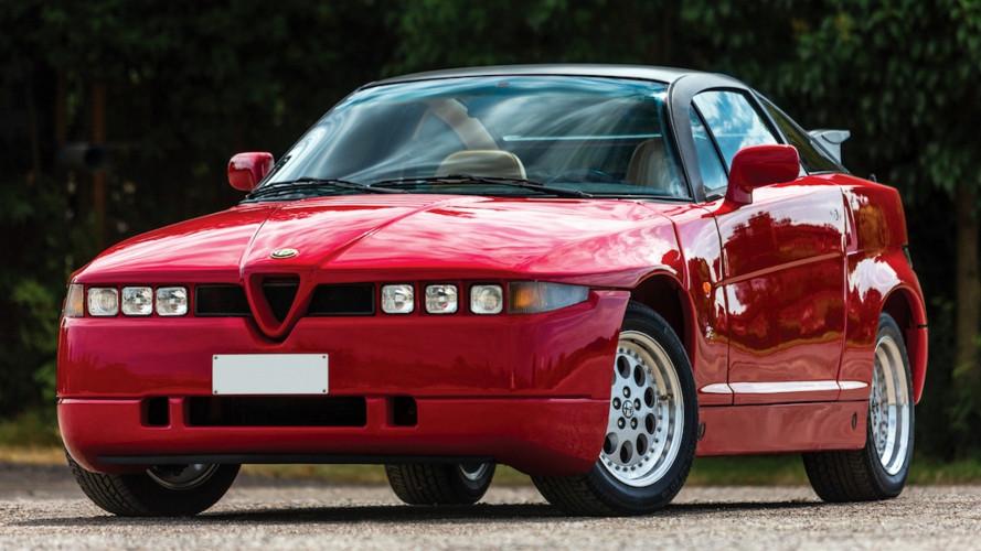 """Alfa Romeo SZ, la chiamavano """"Mostro"""""""