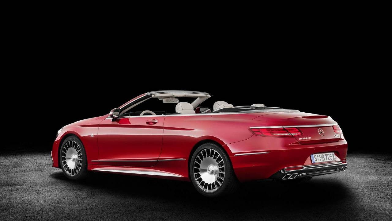 2.- Mercedes-Maybach S 650 Cabriolet