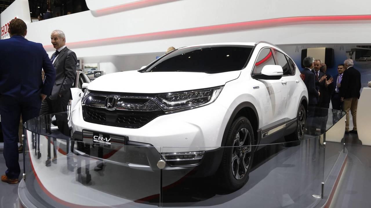 Honda CR-V en el salón de Ginebra 2018