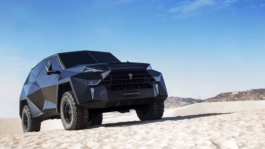 Dünyanın en pahalı SUV'u: Karlmann King