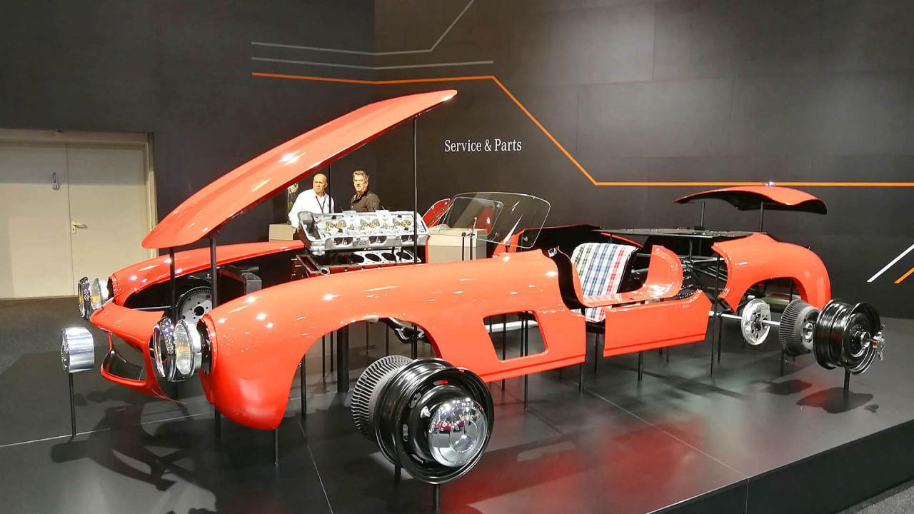 Techno Classica 2018: Autohersteller trumpfen auf
