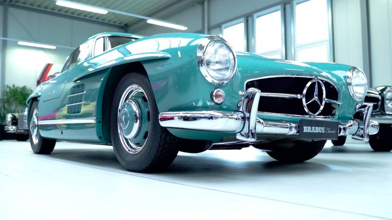 Brabus Restored Classic Mercedes-Benz Cars