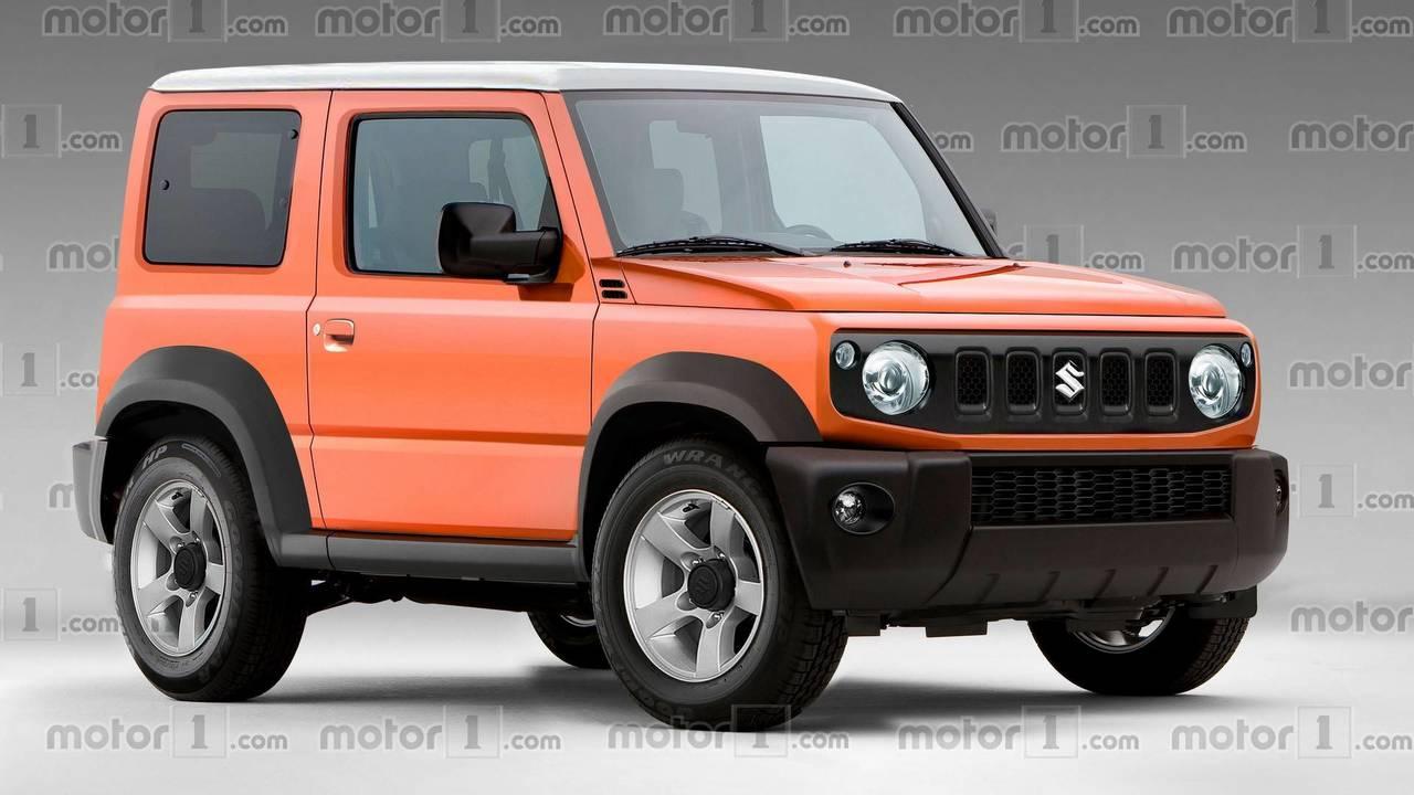 Next Suzuki Jimny Render