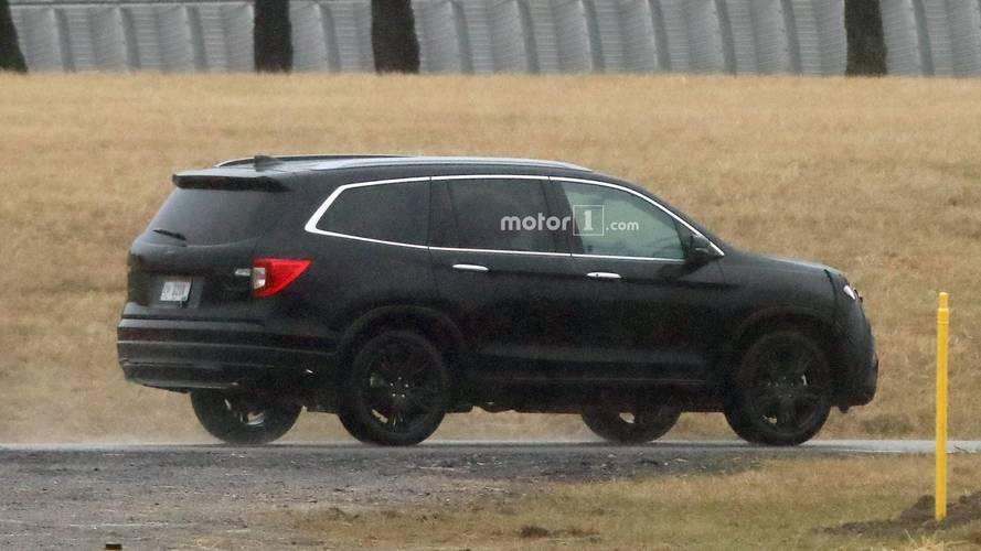 2019 Honda Pilot Spy Photos