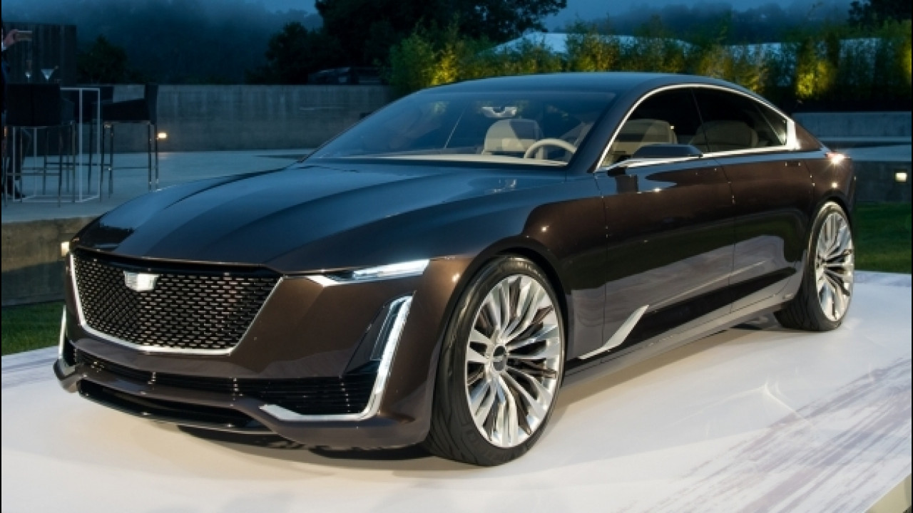 [Copertina] - Cadillac Escala Concept, lusso all'americana