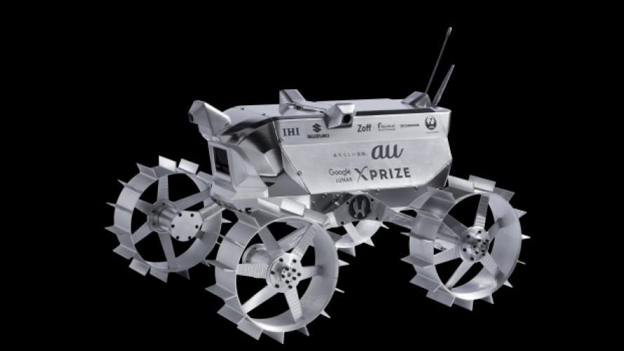 [Copertina] - Suzuki, sulla Luna con la trazione integrale
