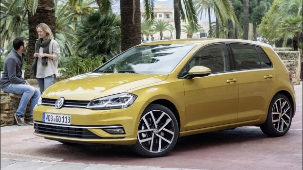 [Copertina] - Volkswagen Golf restyling, prezzi da 20.150 euro