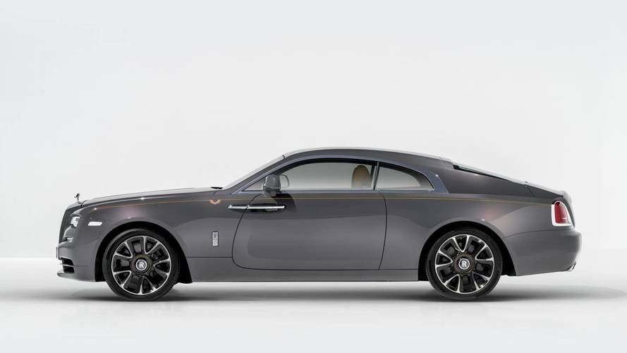 New Rolls-Royce Wraith Luminary Collection in pictures