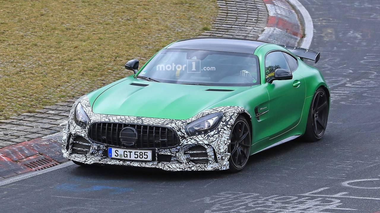 2019 Mercedes-AMG GT R facelift spy photo