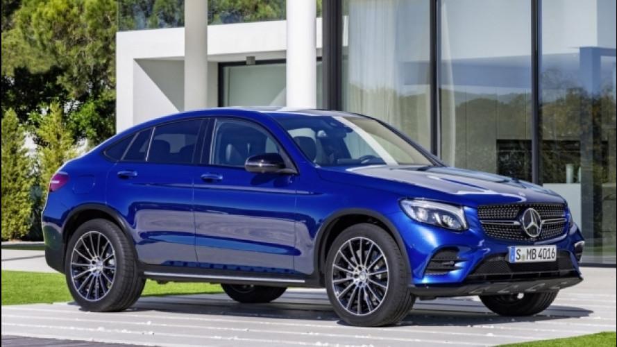 Mercedes, nuovi motori per le Classe E, GLC e GLC Coupé