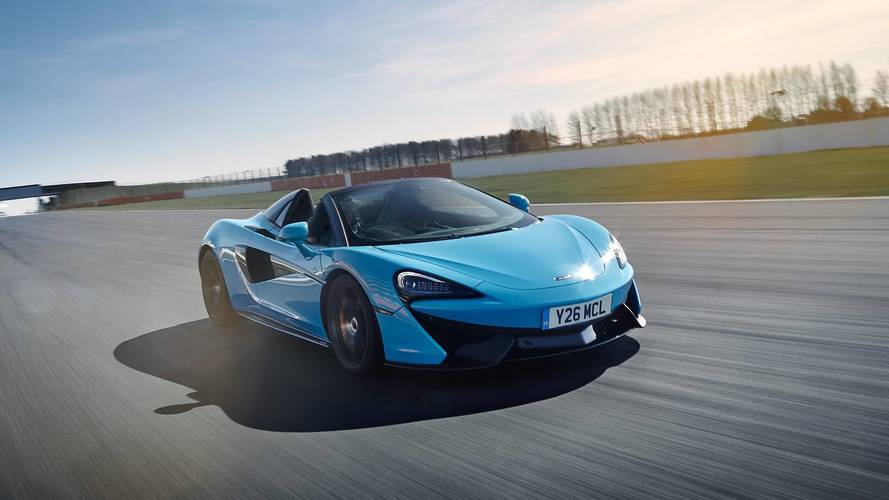McLaren 570S Spider Track Pack Is 73 Lbs Lighter Than Stock Model