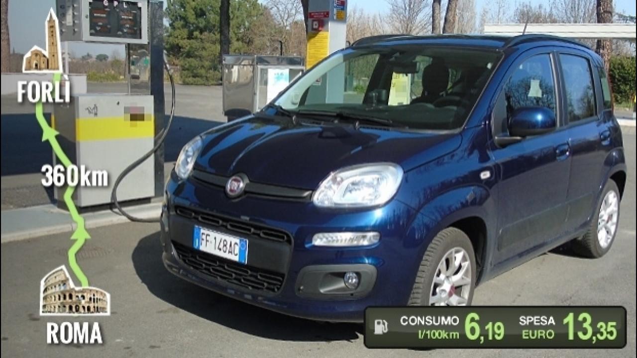 [Copertina] - Fiat Panda GPL, la prova dei consumi reali