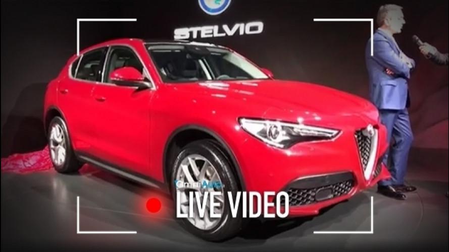 Alfa Romeo Stelvio, l'antidoto alla guida autonoma [VIDEO]