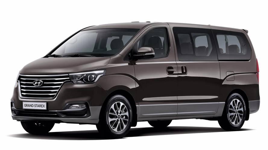 2018 Hyundai Grand Starex/H1 Kore'de tanıtıldı
