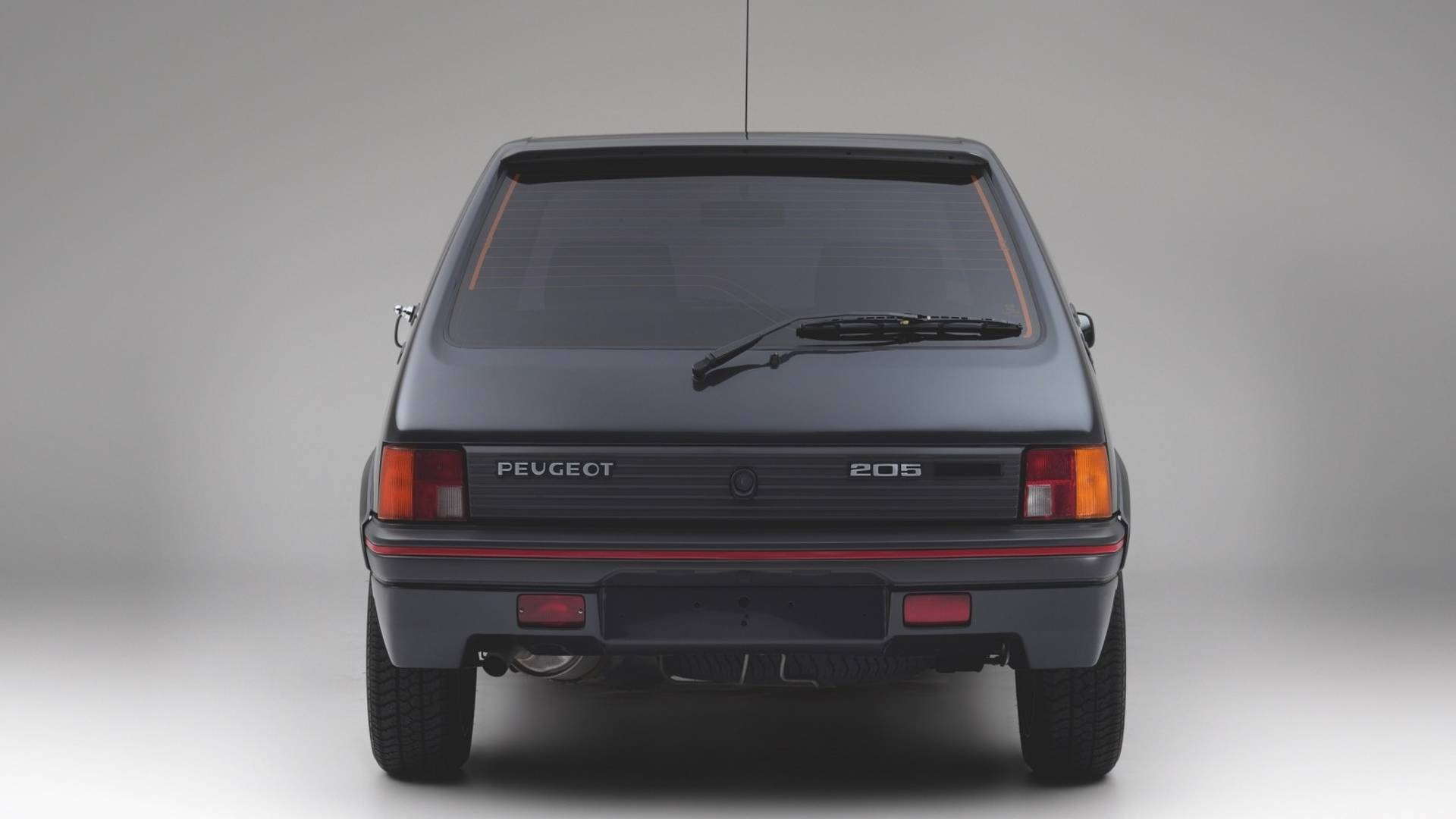 armored peugeot 205 gti is not your typical hot hatch