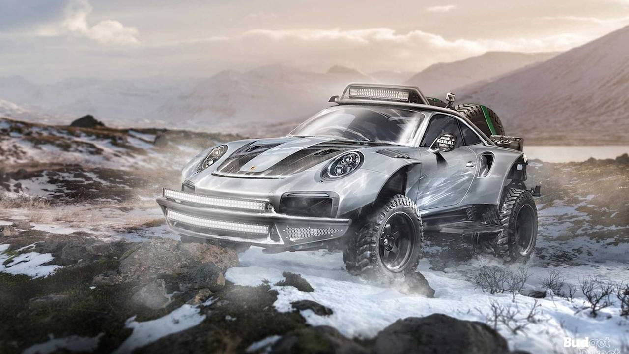 Check Out These Seven Supercars Rendered As Off Road Heroes