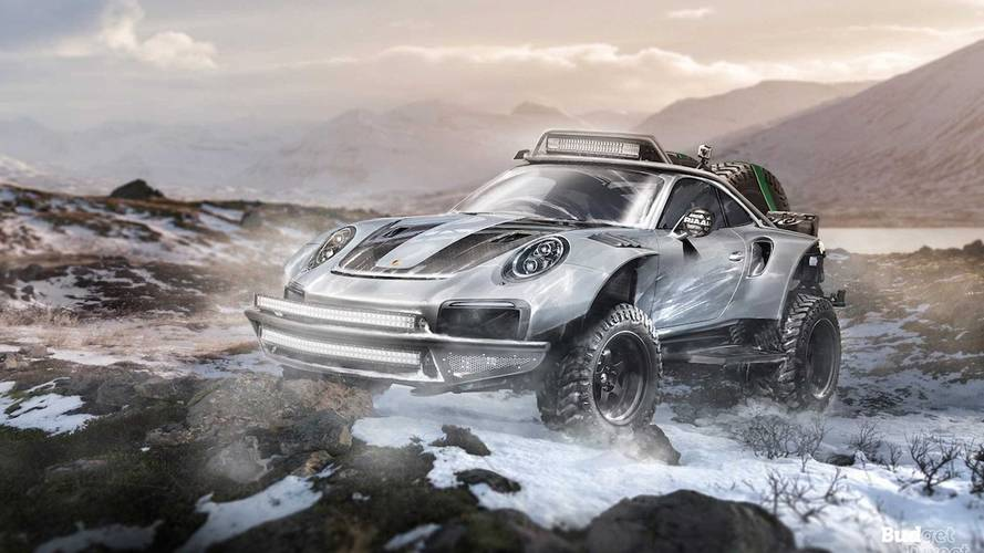 Check Out These Seven Supercars Rendered As Off-Road Heroes