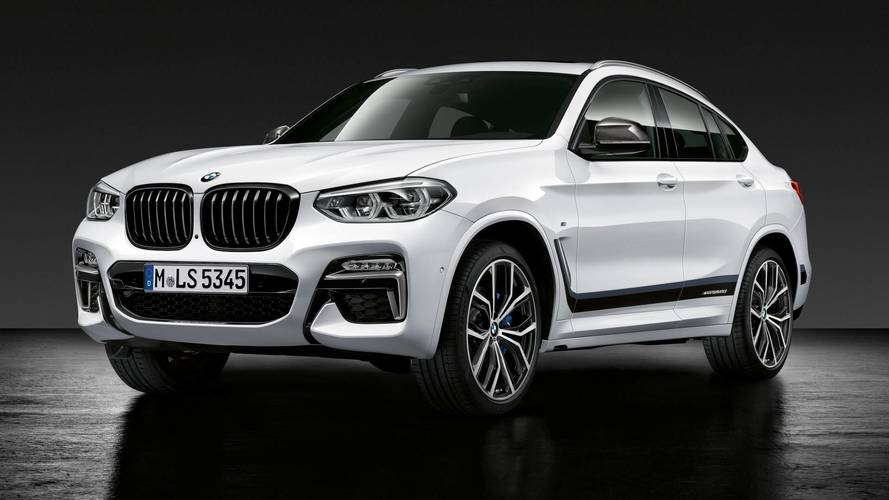 BMW X3 with M Performance parts
