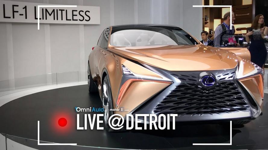 Lexus LF-1 Limitless, crossover senza limiti