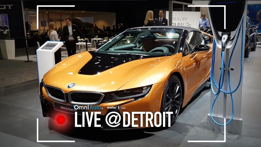 BMW i8 Roadster, vento ed elettroni