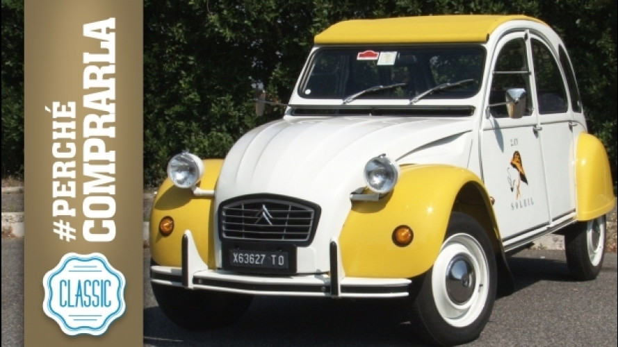 Citroen 2CV, perché comprarla... Classic [VIDEO]