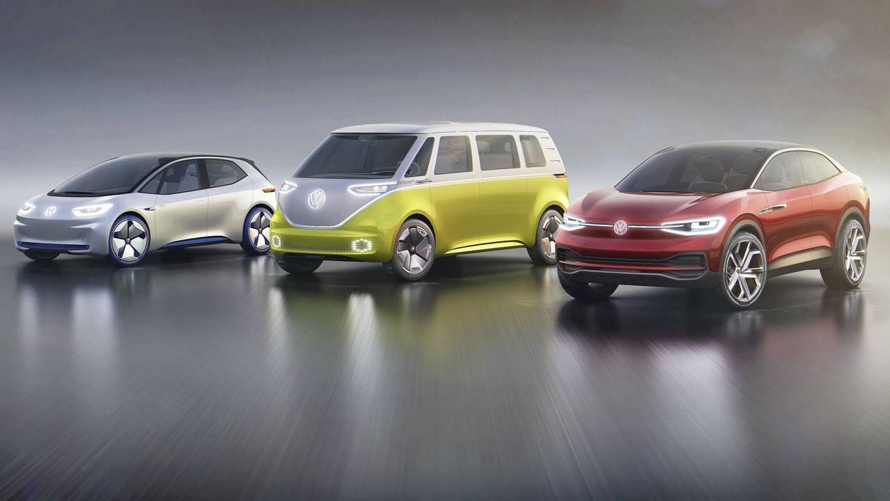VW I.D. family front