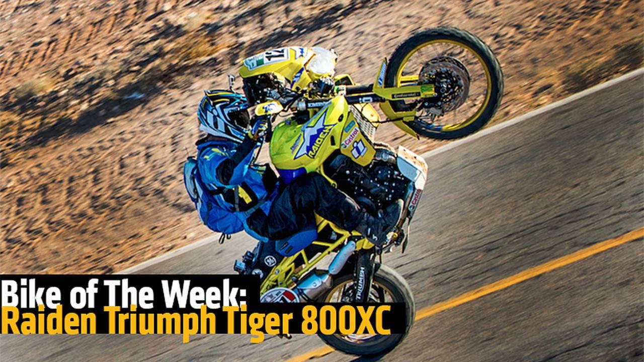 Bike of The Week: Raiden Triumph Tiger 800XC
