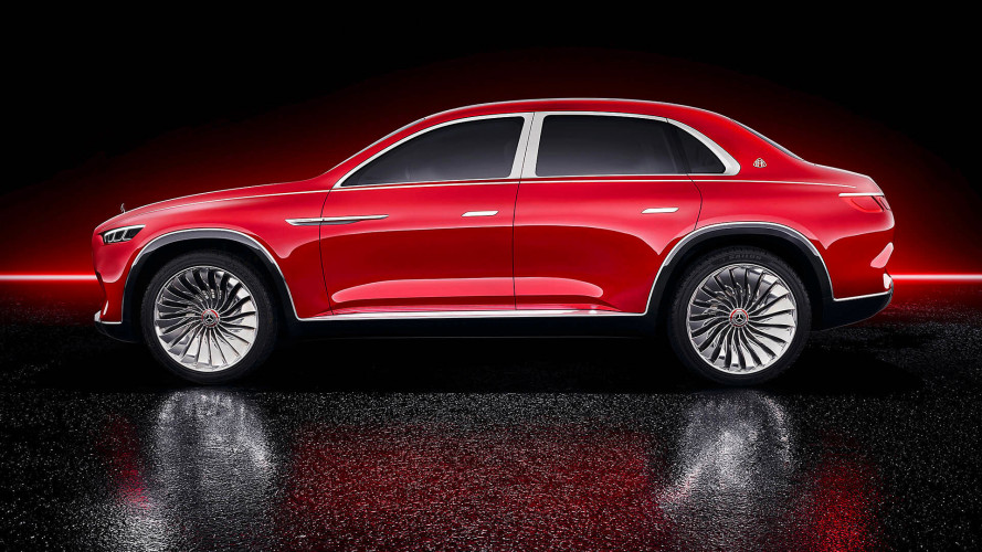 Maybach zeigt Limousinen-SUV