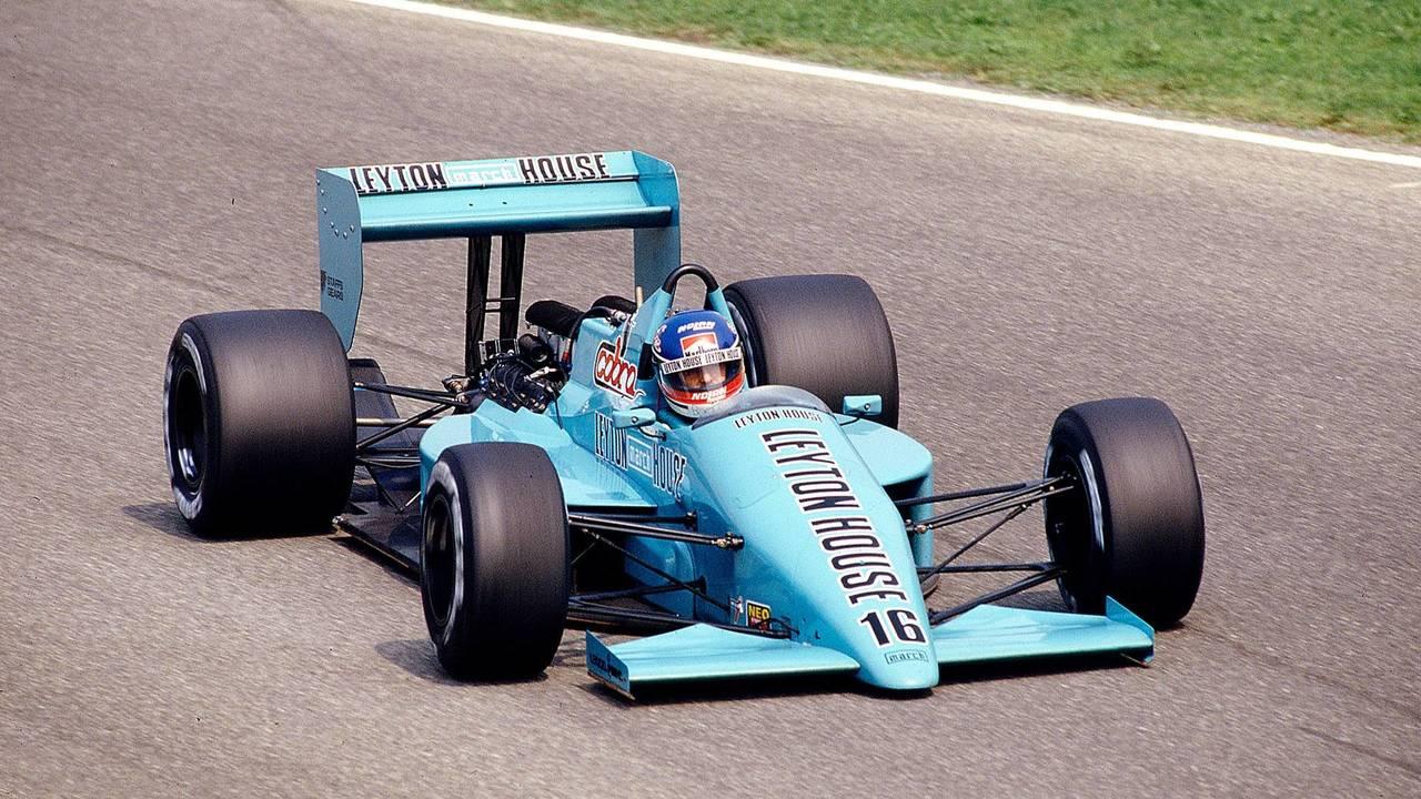 19. Ivan Capelli (93 Grandes Premios)