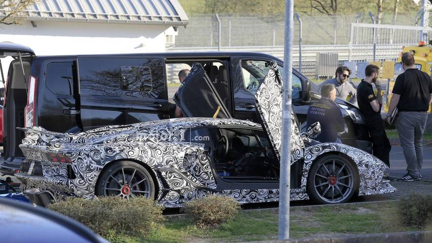 Lamborghini Aventador Superveloce Jota foto spia