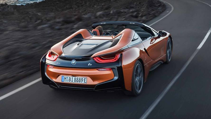 2018 Bmw I8 Roadster First Drive Top Down To The Future