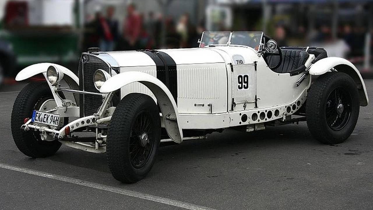 Mercedes-Benz SSKL Spyder