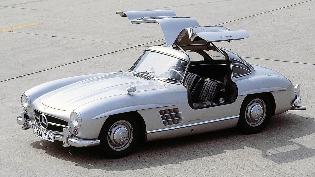 """Mercedes 300 SL: """"Flügeltürer"""""""