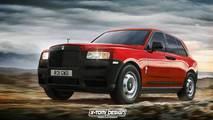 Rolls-Royce Cullinan Rendering