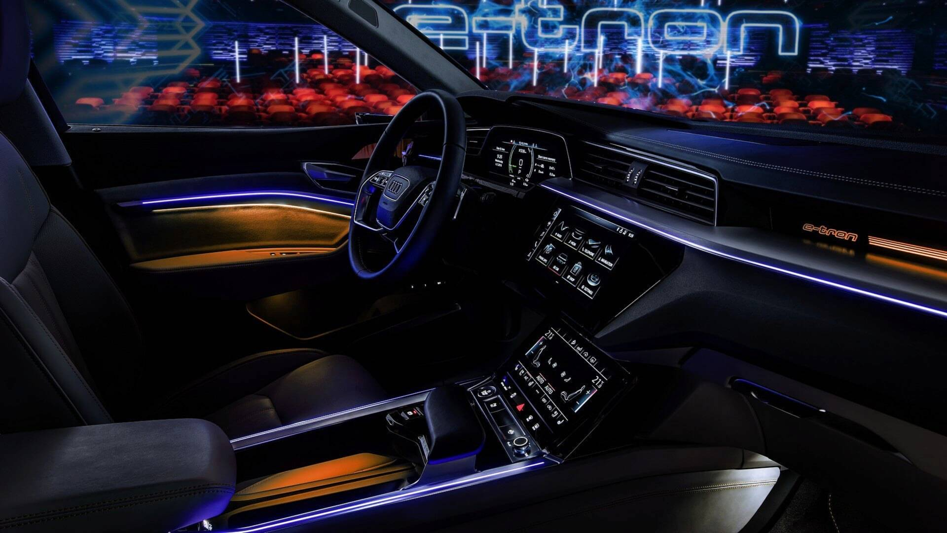 Take A Better Look At How Audis Virtual Mirrors Work Car Interior Lights Delay