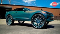2016 Chevy Camaro Convertible on 32-inch Forgiato Blocco wheels