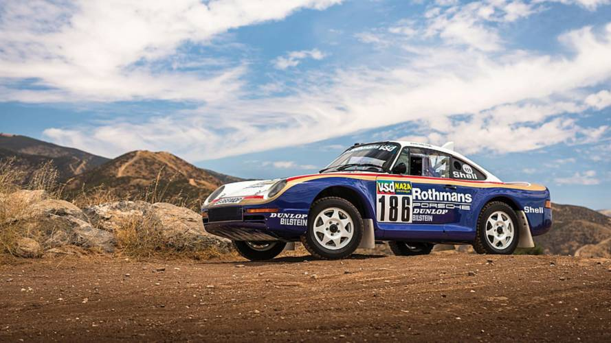 Paris-Dakar Rally Porsche 959 And Prototype Up For Auction