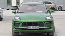 2019 Porsche Macan Turbo facelift spy photo