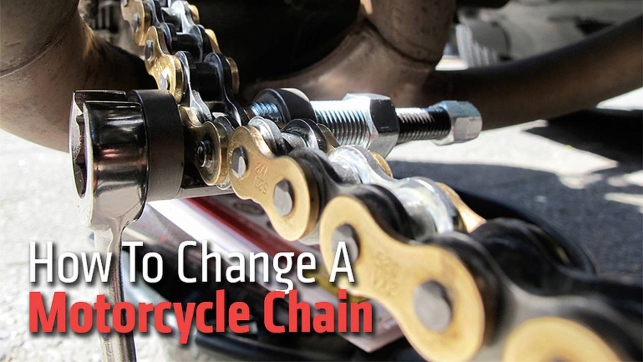 How To Change A Motorcycle Chain