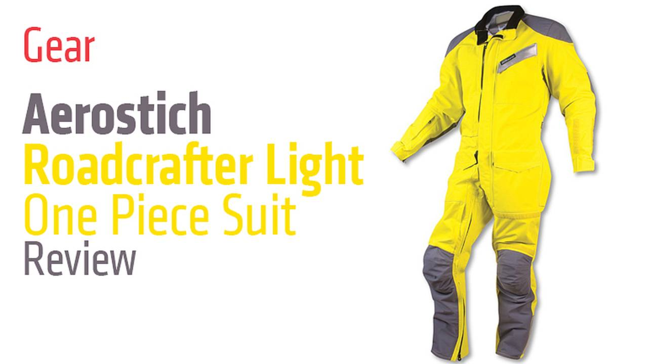Gear: Aerostich Roadcrafter Light One Piece Suit - Review