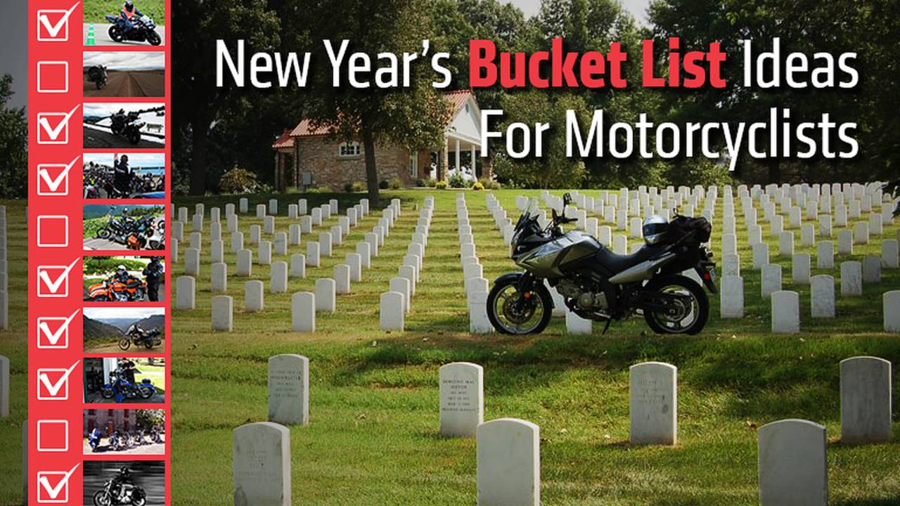 New Year's Bucket List Ideas For Motorcyclists