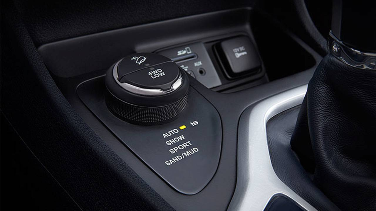 2014 Jeep Cherokee mode dial