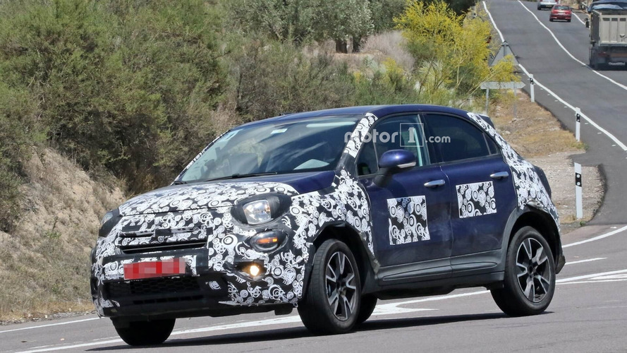 2019 Fiat 500X facelift new spy photos