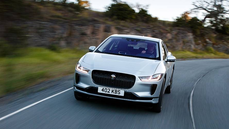 Jaguar I-Pace Motorway Range Test: Video