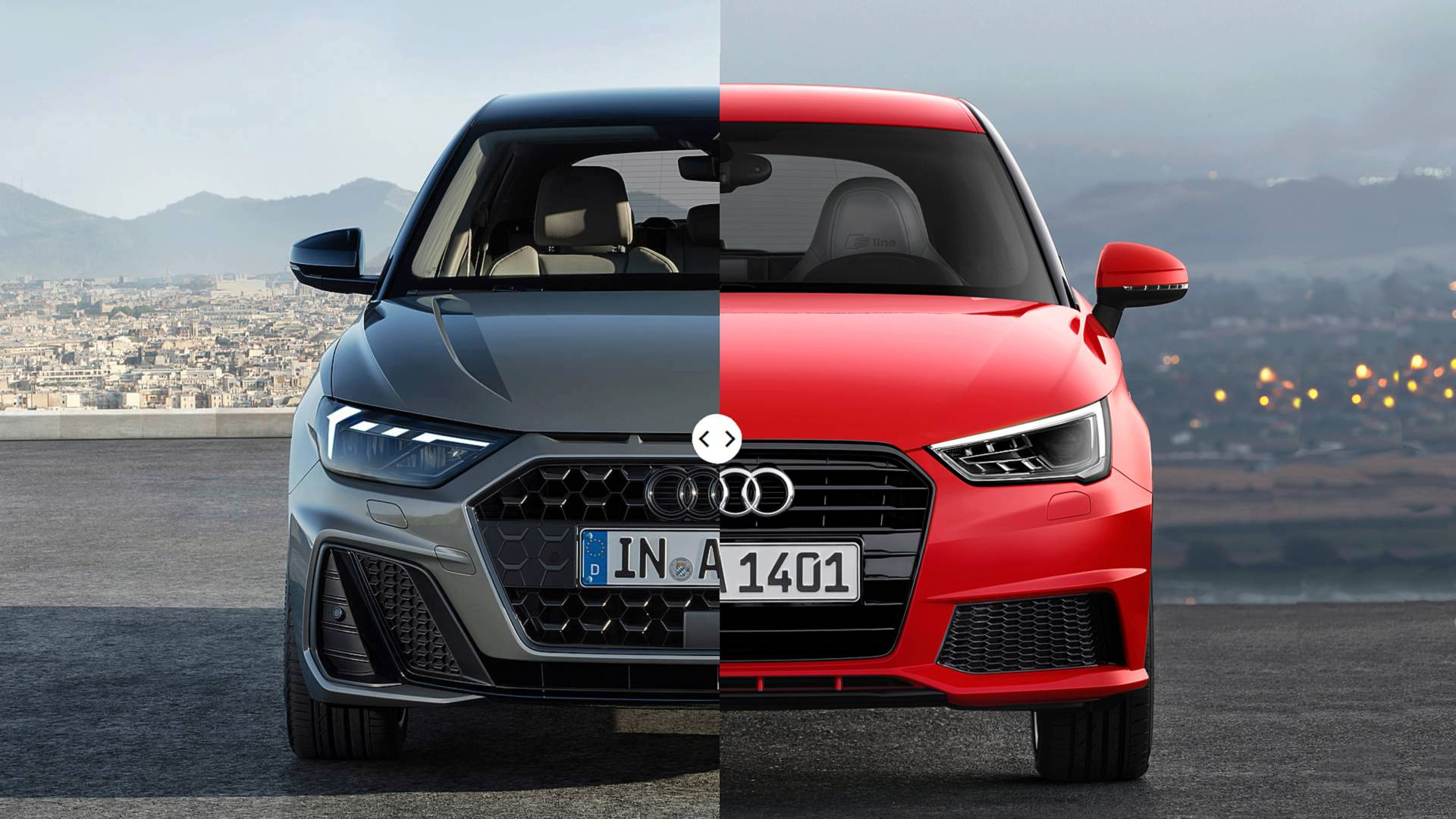 Audi A1 Sportback See The Changes Side By Side