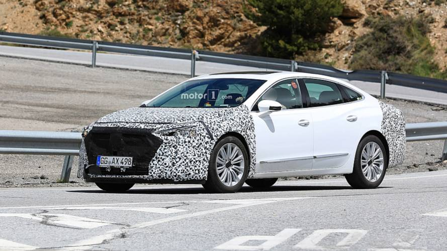 Buick LaCrosse Spied With A Modest Facelift