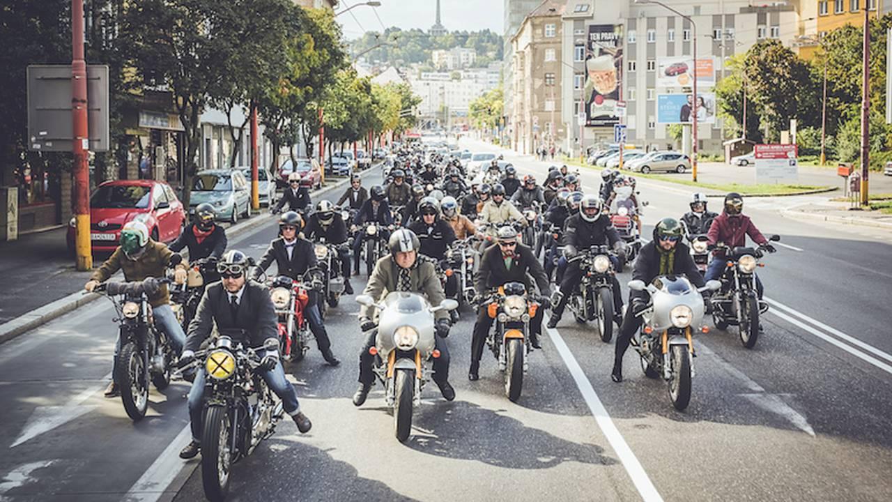 Triumph Renews Distinguished Gentleman's Ride Sponsorship