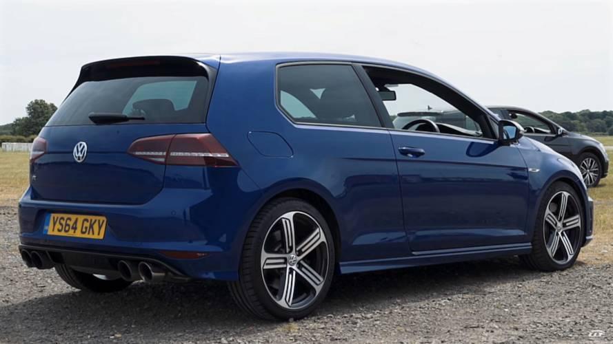 600-HP VW Golf R vs Audi RS6 Avant